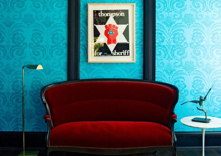 A room at Hotel Saint Cecilia; Austin, TX.
