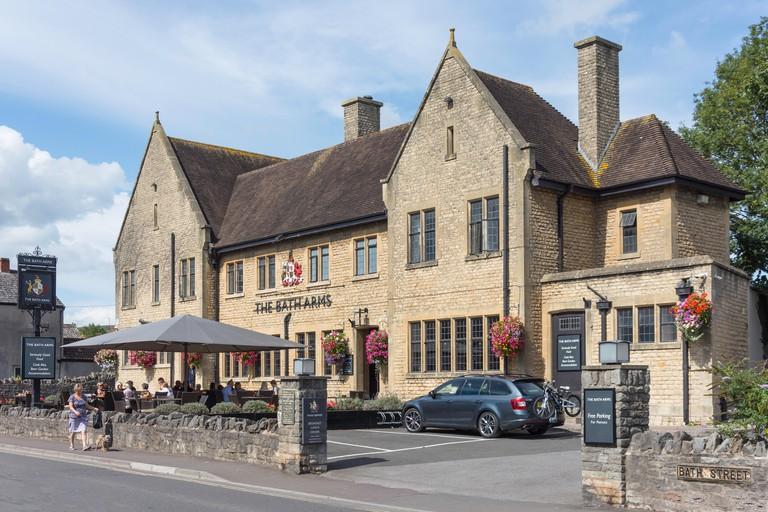 The Bath Arms, Bath Road, Cheddar, Somerset, England, United Kingdom