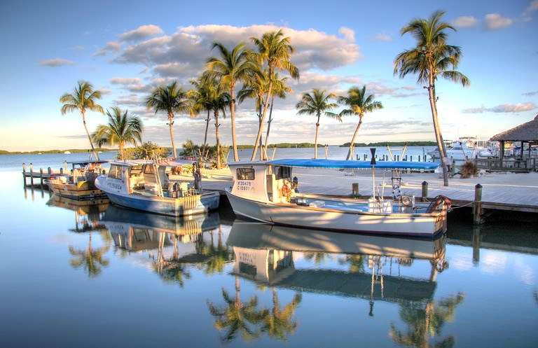 Fishing boats, Islamorada, Florida Keys