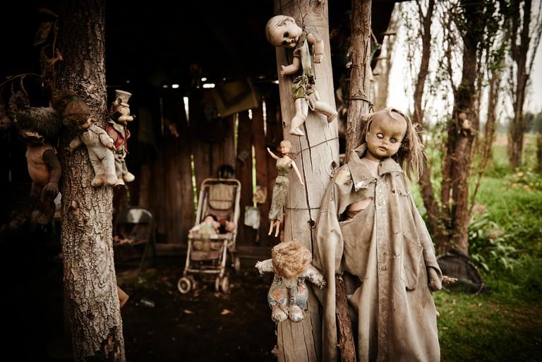 Dolls from La Isla de las Munecas - The Island of the Dolls, Xochimilco Mexico
