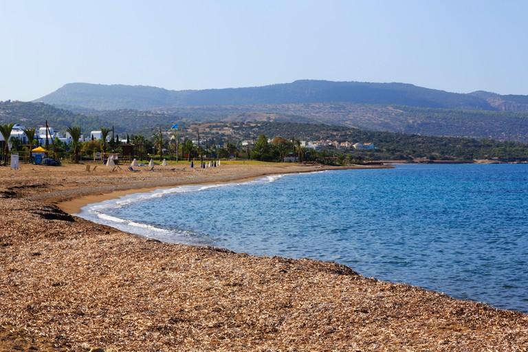 Latchi beach, Polis, Cyprus
