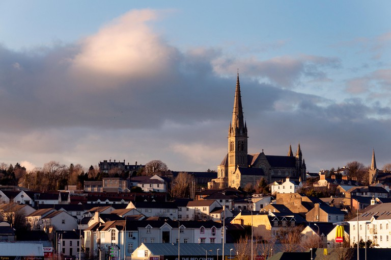 St. Eunan's Cathedral or the Cathedral of St. Eunan and St Columba in Letterkenny, County Donegal, Ireland