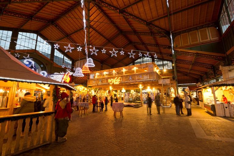 Switzerland, Vaud, Waadt, Montreux, ville, Stadt, city, Montreux Noel, Marche de Noel, Weihnachtsmarkt, Christmas market