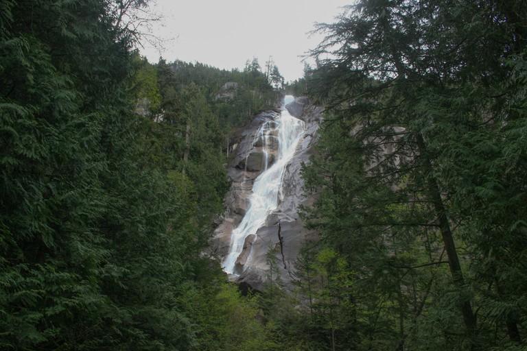 Shannon Falls, Squamish, British Columbia, Canada
