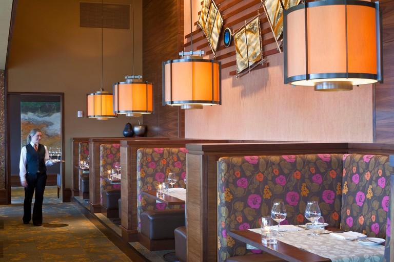 United States, Oregon, Newberg, The Allison Inn & Spa, Jory restaurant