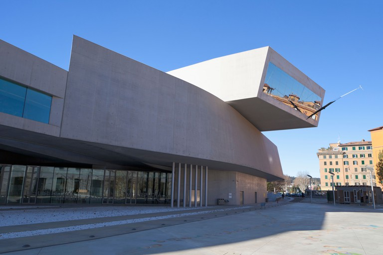 The MAXXI, National Museum of 21st Century Arts, Rome, Italy