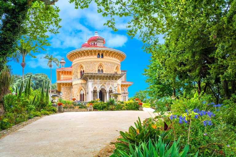 The Monserrate Palace in Sintra, Portugal