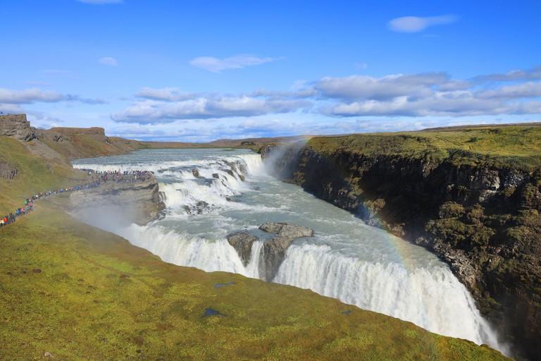 Gullfoss Waterfall in Iceland, Europe