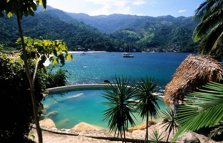 Yelapa beach, Hotel Lagunita