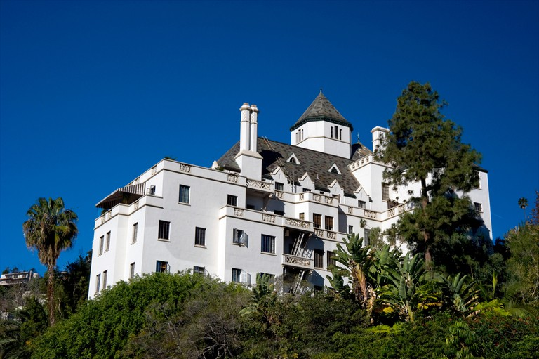 Chateau Marmont hotel on the Sunset Strip in Los Angeles, California