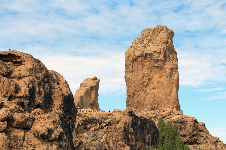 Monumento natural del Roque Nublo, España