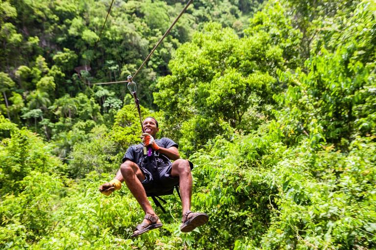 Zipline in Dominican Republic