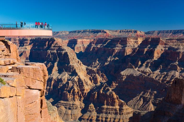 Grand Canyon Skywalk, Hualapai Reservation, Grand Canyon National Park, Arizona, Usa, America