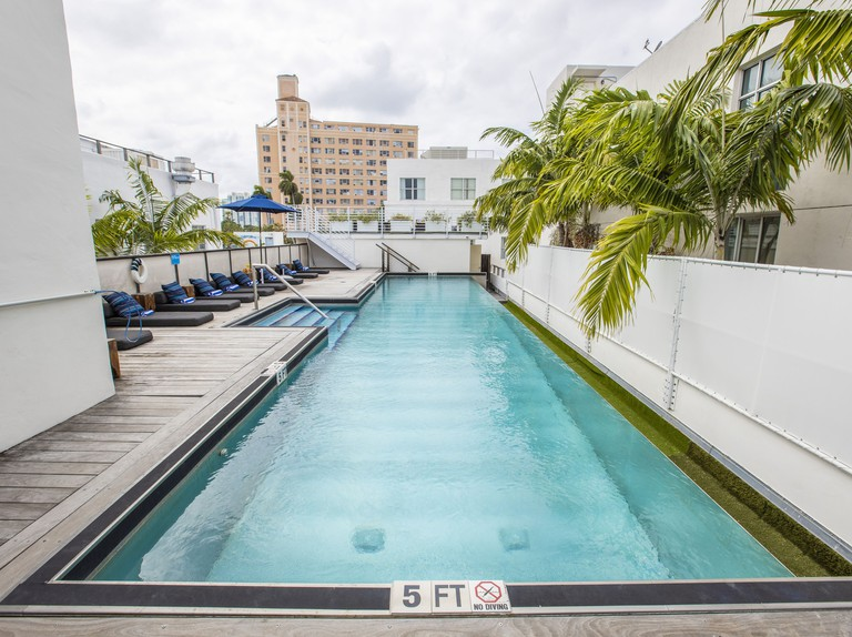 Posh South Beach Hostel, a South Beach Group Hotel. Miami Beach's South Beach neighborhood