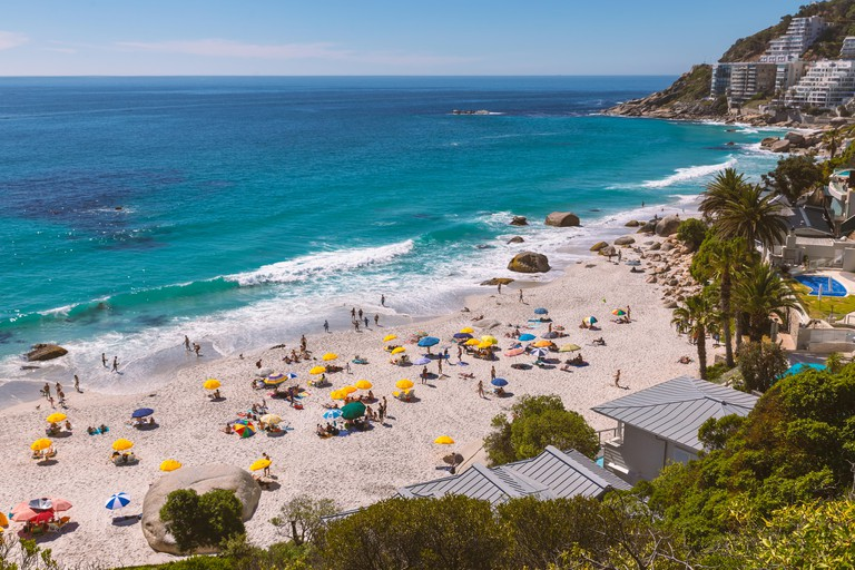 Clifton beach view - the most expensive and luxurious place of South Africa