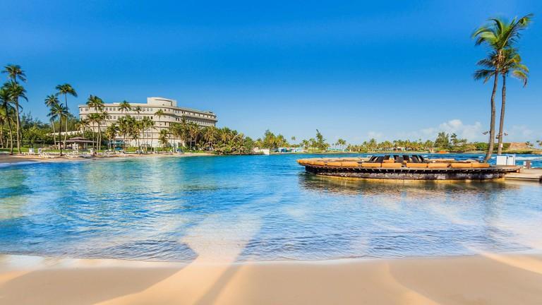 Puerto Rico's world-class resorts have bird sanctuaries, ice cream parlors and yoga classes