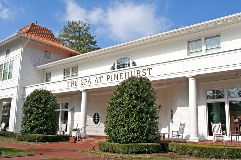 The Spa at Pinehurst Resort North Carolina