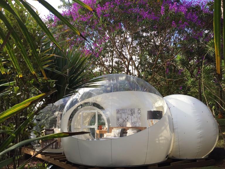 Bubble Lodge Bois Cheri