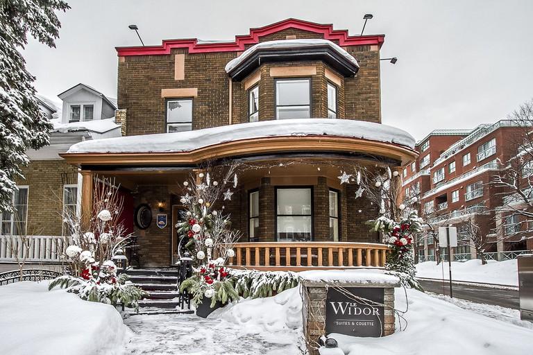 Le Widor, Petit Hotel, Quebec
