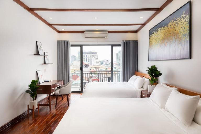 The Wooden Apartments, Hanoi