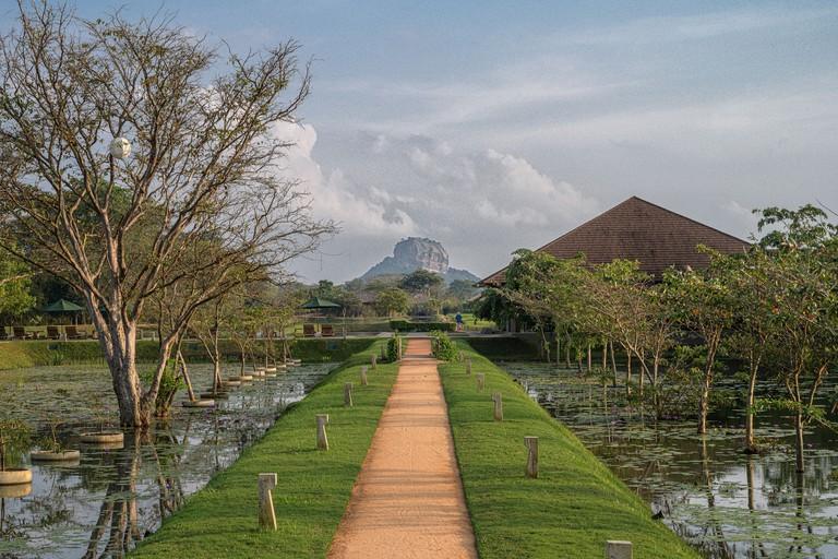 Water Garden Sigiriya, Sri Lanka