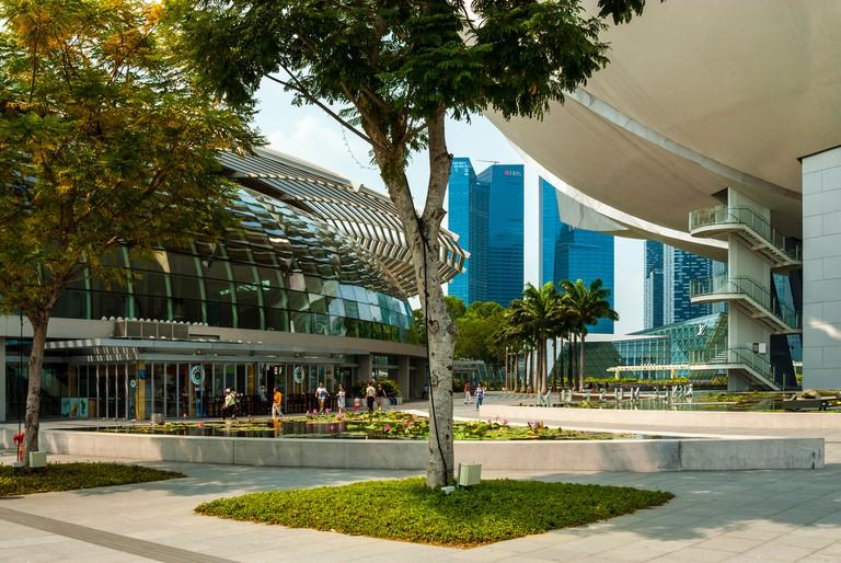 Waterfront Promenade, Marina Bay Sands, Singapore