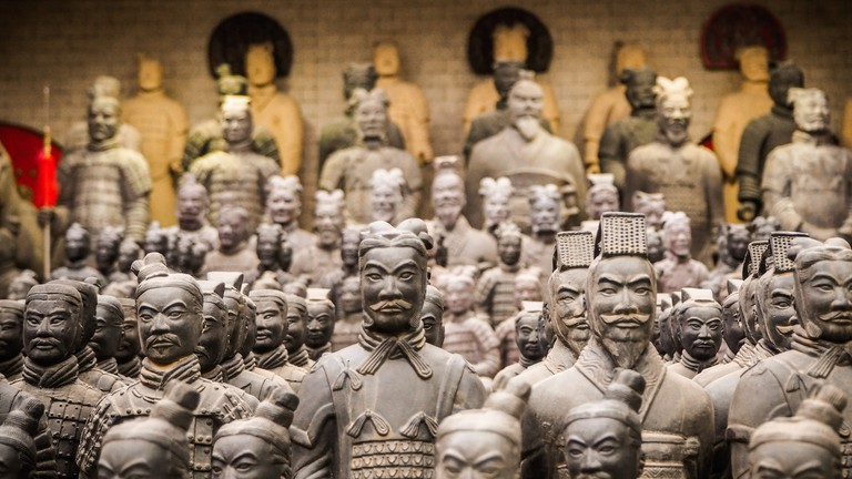 The Museum of Qin Terracotta Warriors and Horses