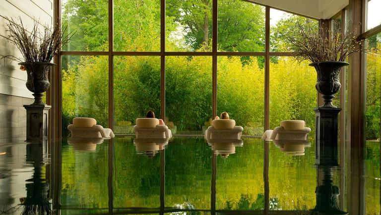 Monart Destination Spa pool