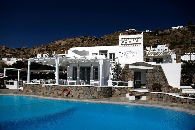 Olia Hotel, Mykonos