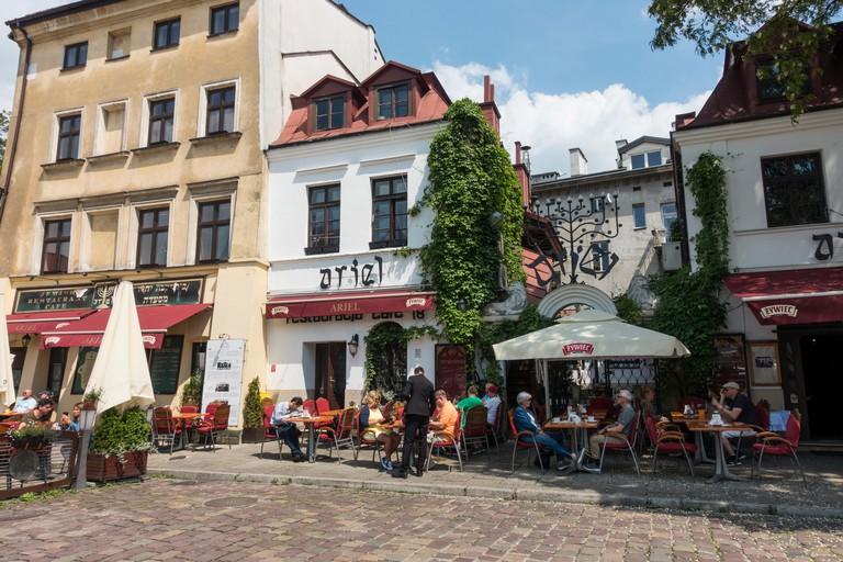 Kazimierz Jewish Quarter Krakow,Poland, Europe.