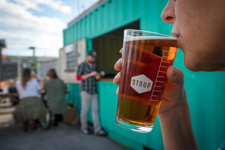 STOUP Brewing in Ballard. Photo by Alabastro Photography. Credit: Alabastro Photograpy