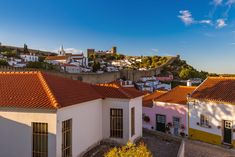 Town Obidos - Portugal. Image shot 11/2019. Exact date unknown.