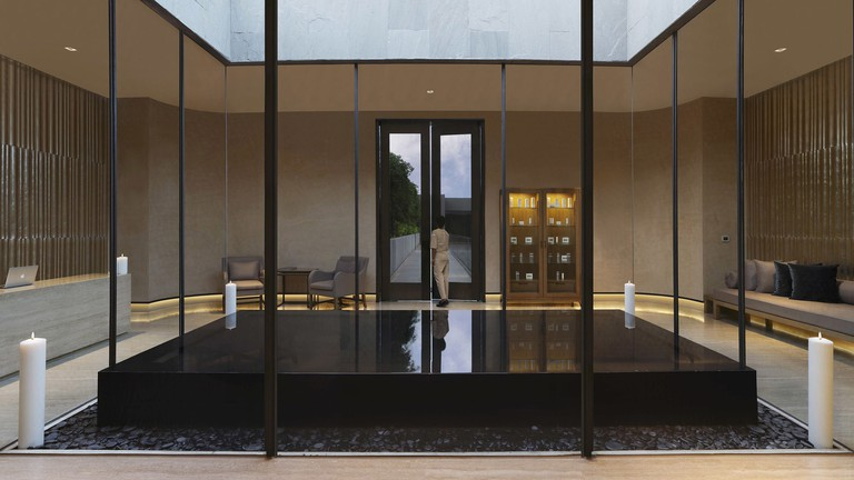 Aheli Spa at the Roseate hotel