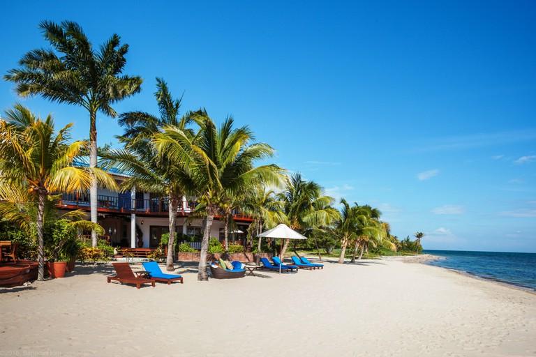 Beach-North-Ben-Kim-Chabil-Mar-Resort-Belize