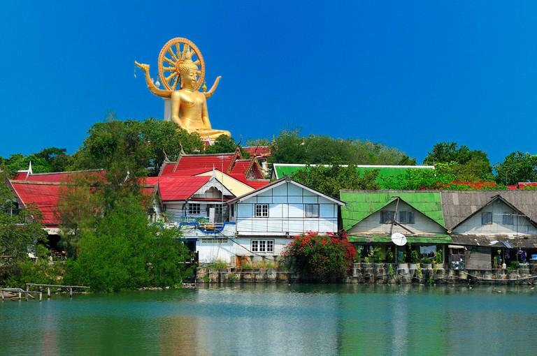 Lagoon, Big Buddha, Koh Samui, Thailand, Asia, hoses, water