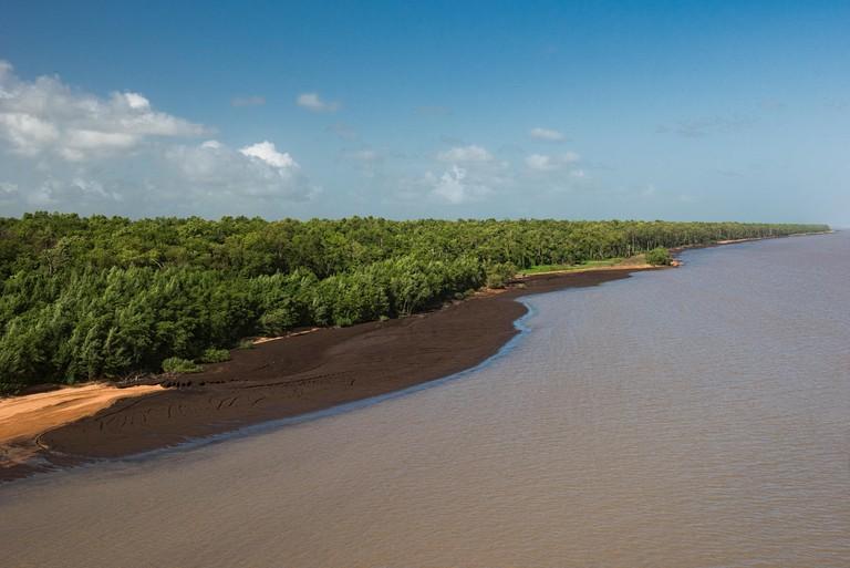 Coastline, Shell Beach, Guyana