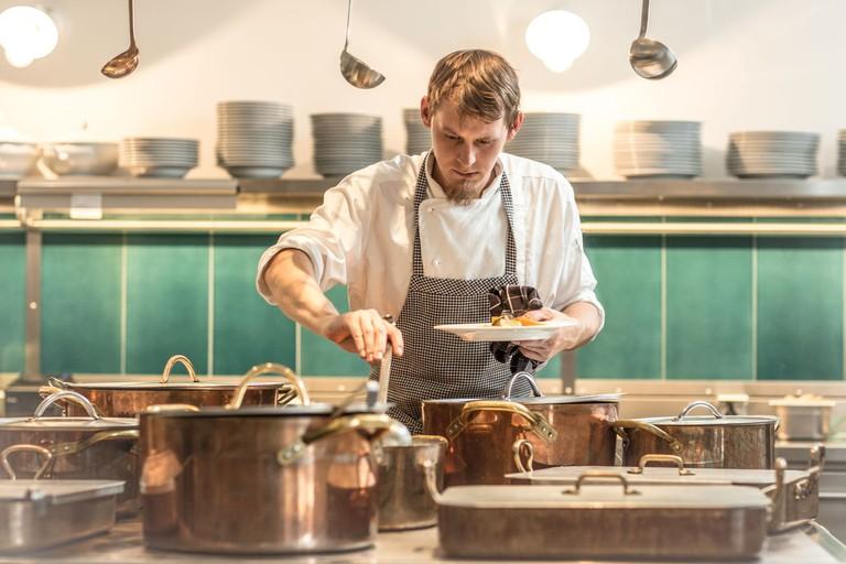 Kuchyň, Unique Experience Restaurant, Hradčanské náměstí