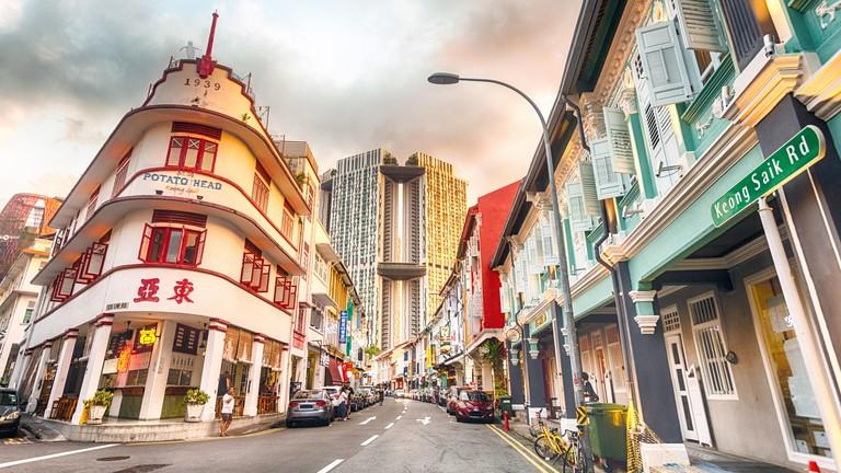 Singapore, Chinatown, Keong Saik Road