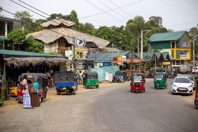 Main Street in Ella, Sri Lanka
