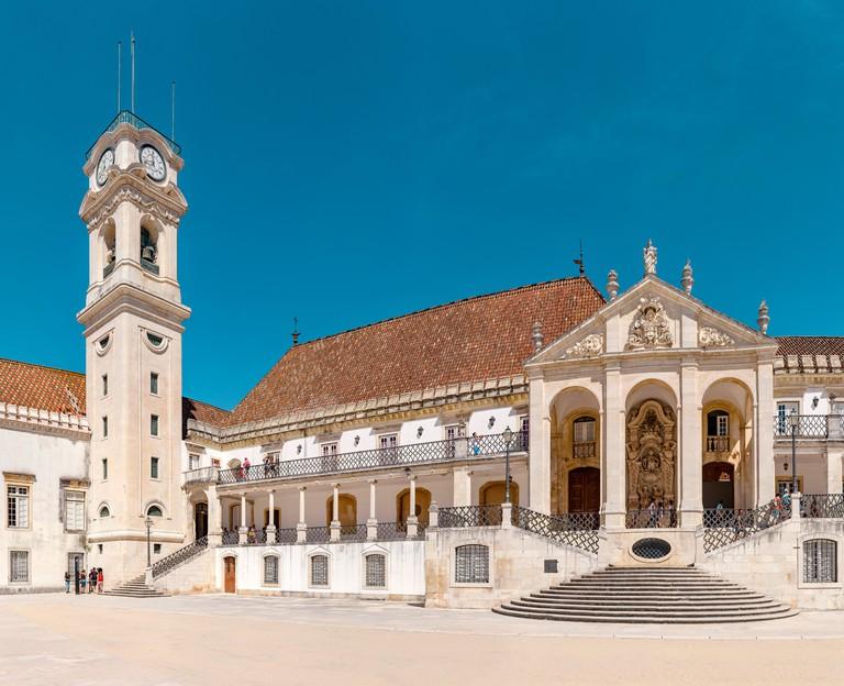 The university, Torre da Universidade de Coimbra, Coimbra,  Portugal