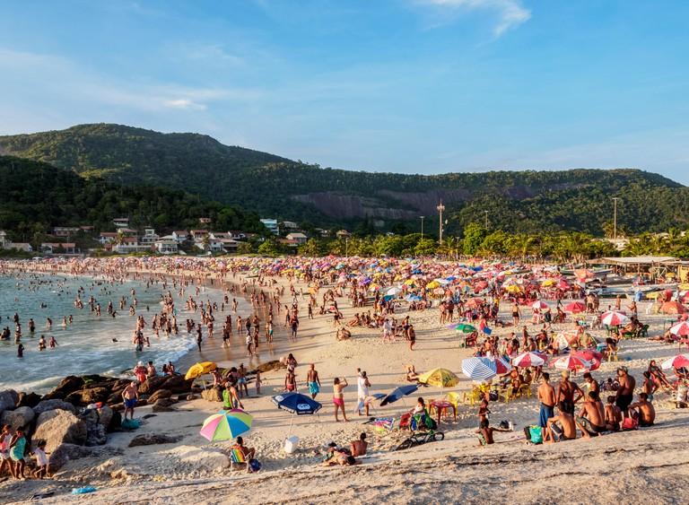 Prainha de Piratininga, beach, Niteroi, State of Rio de Janeiro, Brazil, South America