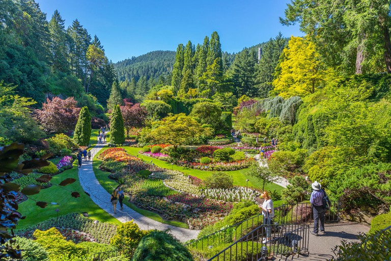 Butchart Gardens at Victoria, Vancouver Island 2A5NTG3