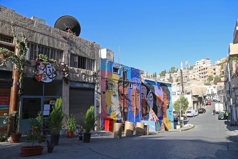 Awtar Cafe, Nemr Al Edwan Street (leading to Omar Al Kheyam Street), Jabal al Weibdeh, Amman, Jordan, Middle East
