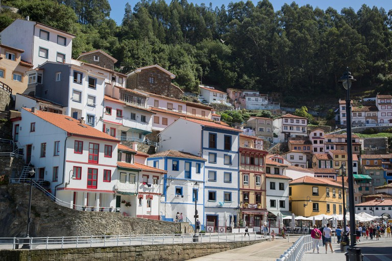 Port at Cudillero, Asturias, Spain