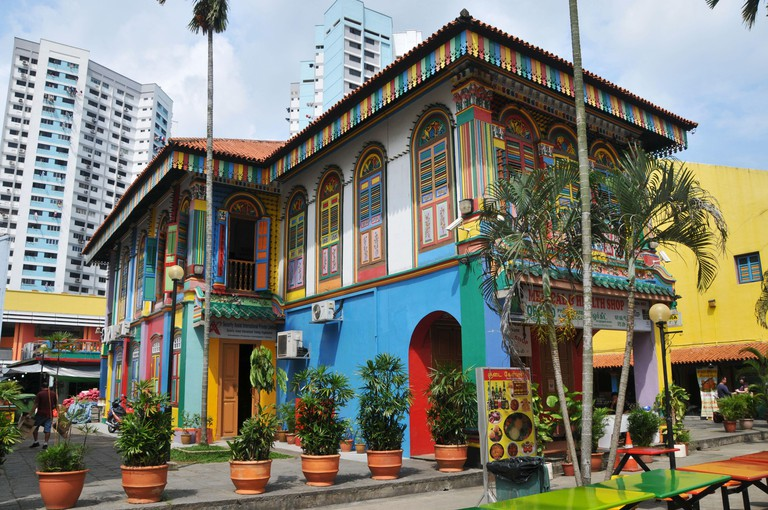 Around Singapore - House of Tan Teng Niah - Chinese Villa
