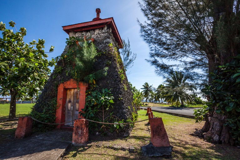 Tomb of King Pomare V, Tahiti, French Polynesia