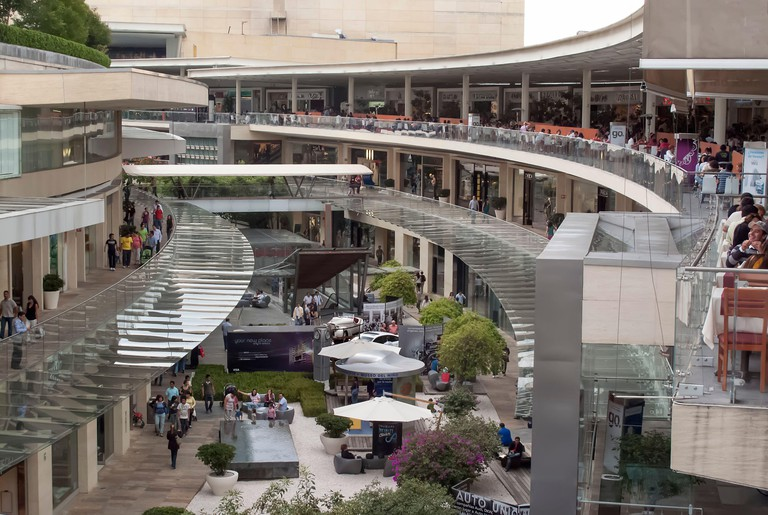 Antara open-air shopping mall, Polanco, Mexico City, Mexico