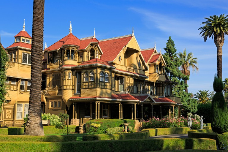 Winchester Mystery House,San Jose,California,USA