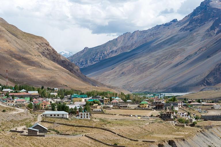 Himachal Pradesh, India - Spiti Valley in Spiti, Himachal Pradesh, India.