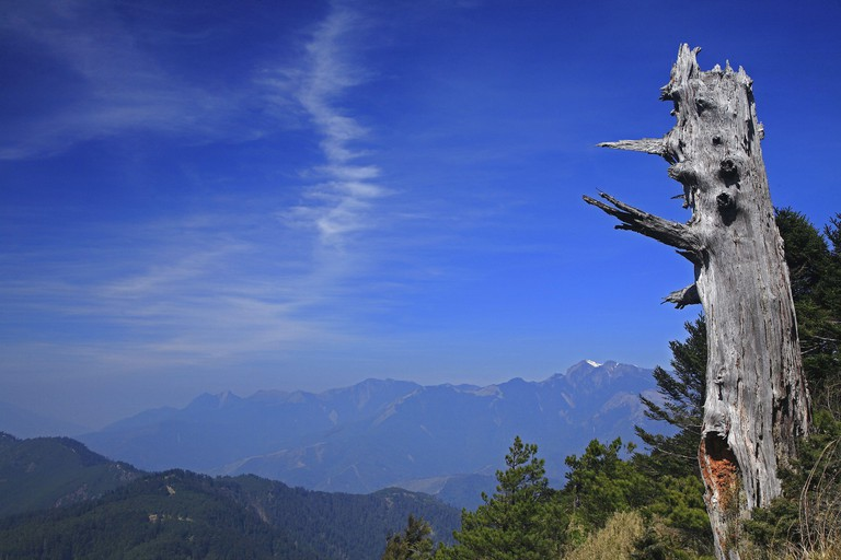 Shei-Pa National Park mountains Taiwan